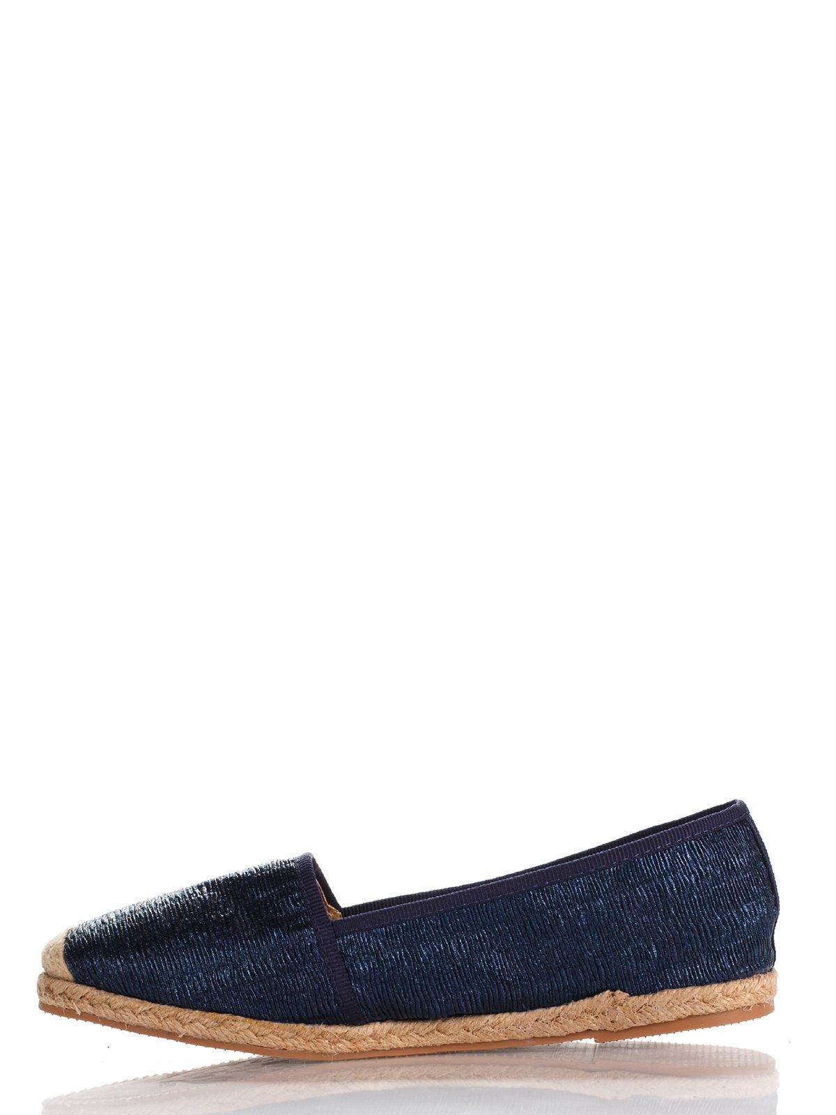 Эспадрильи синие | 2976231 | фото 3