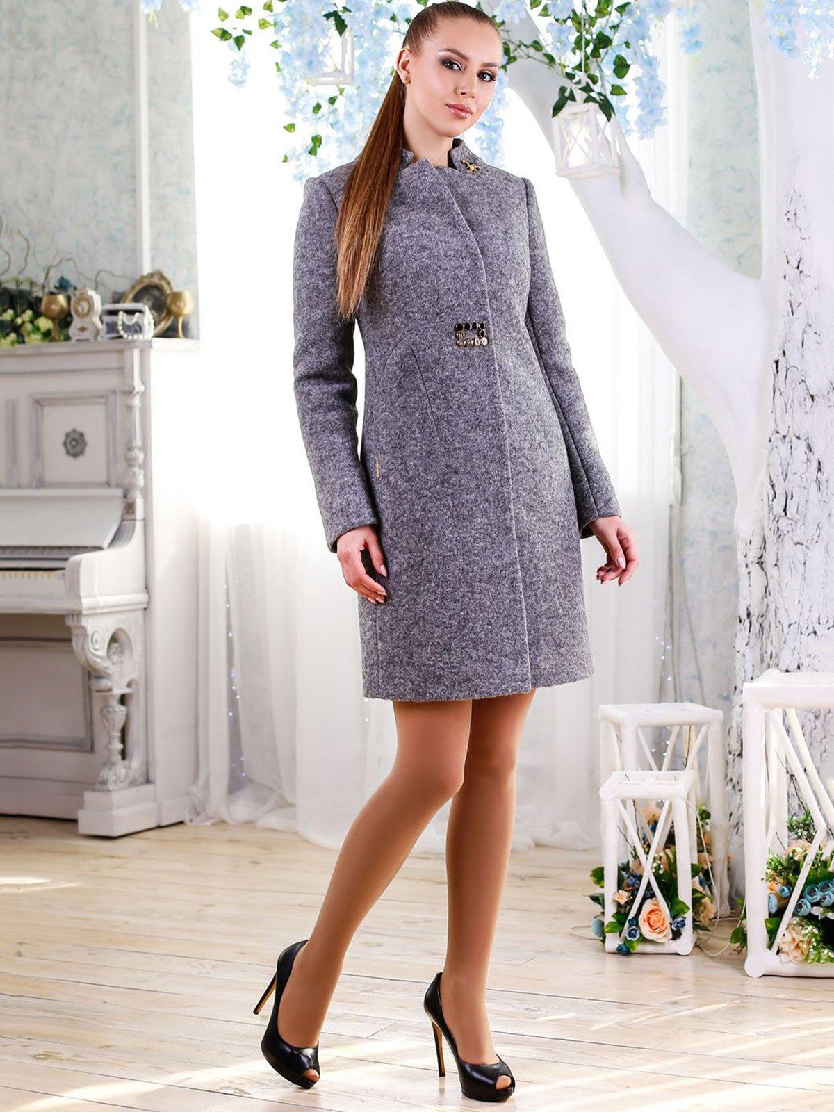 Пальто серое   4176363