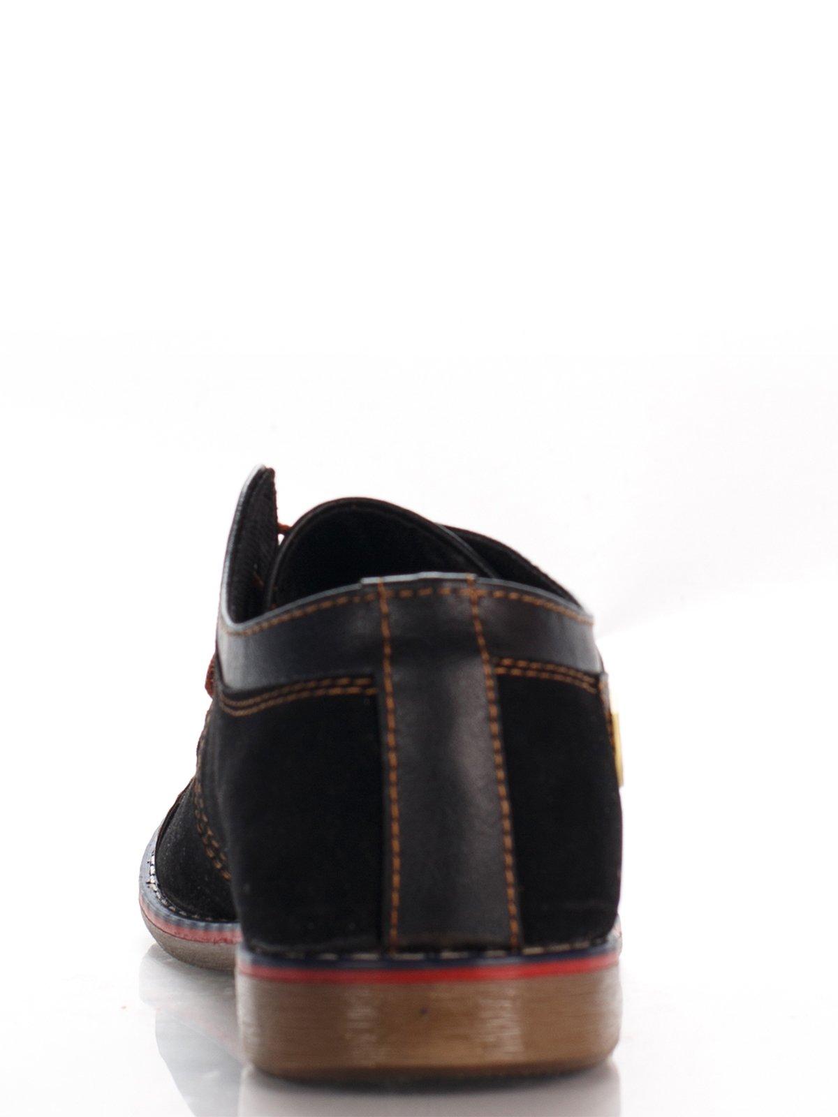 Туфли темно-коричневые   3483404   фото 4