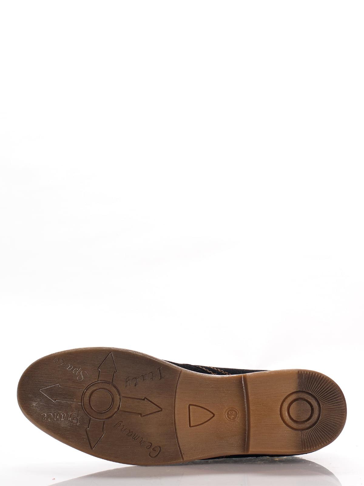 Туфли темно-коричневые   3483404   фото 5