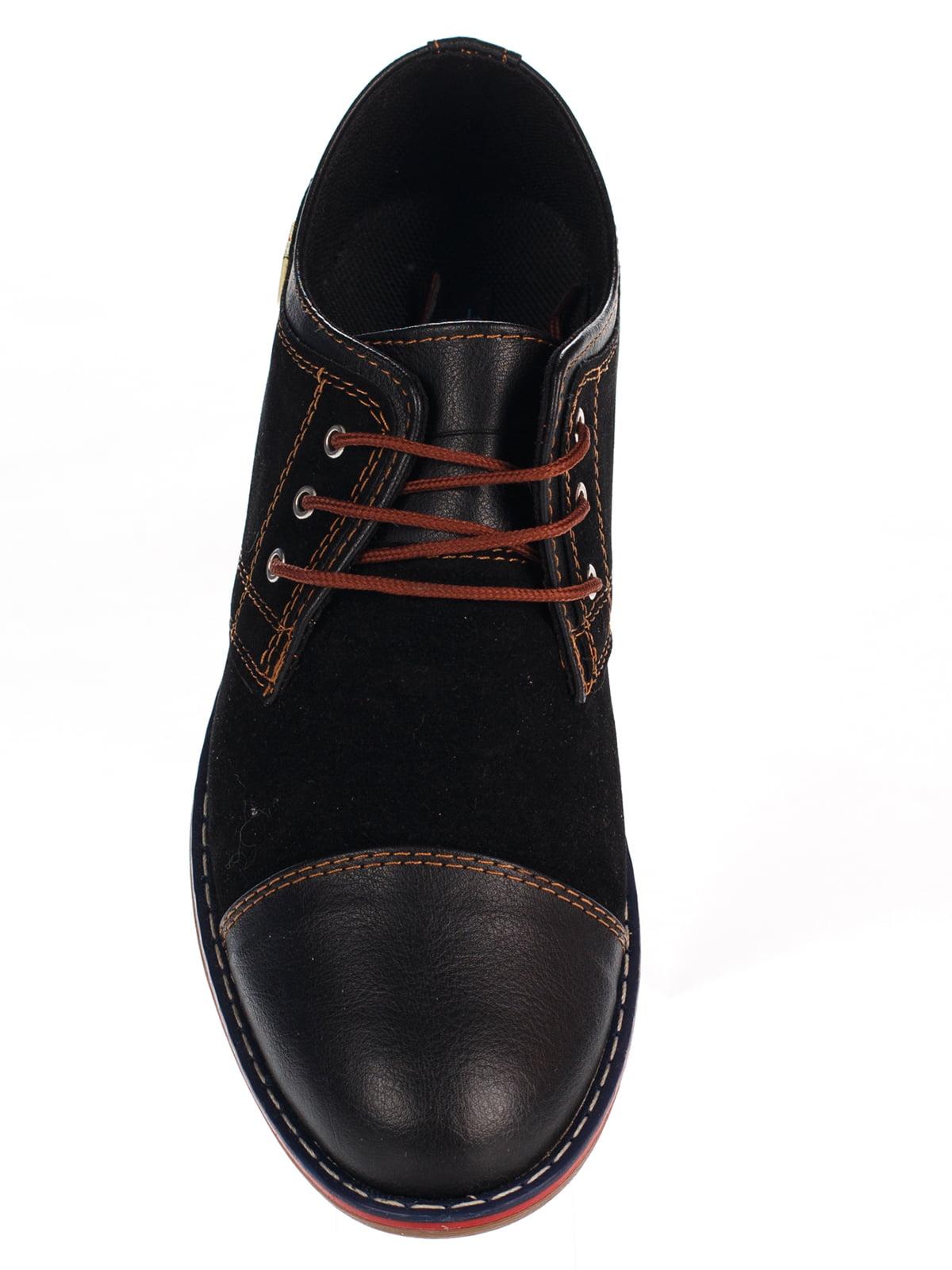 Туфли темно-коричневые   3483404   фото 6