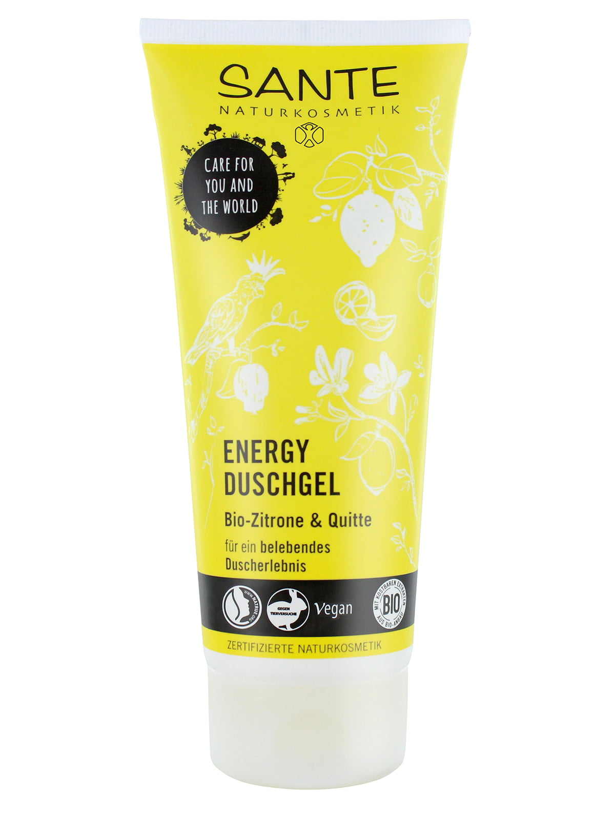 Біо-Гель для душу Energy «Лимон і айва» (200 мл) | 4176736