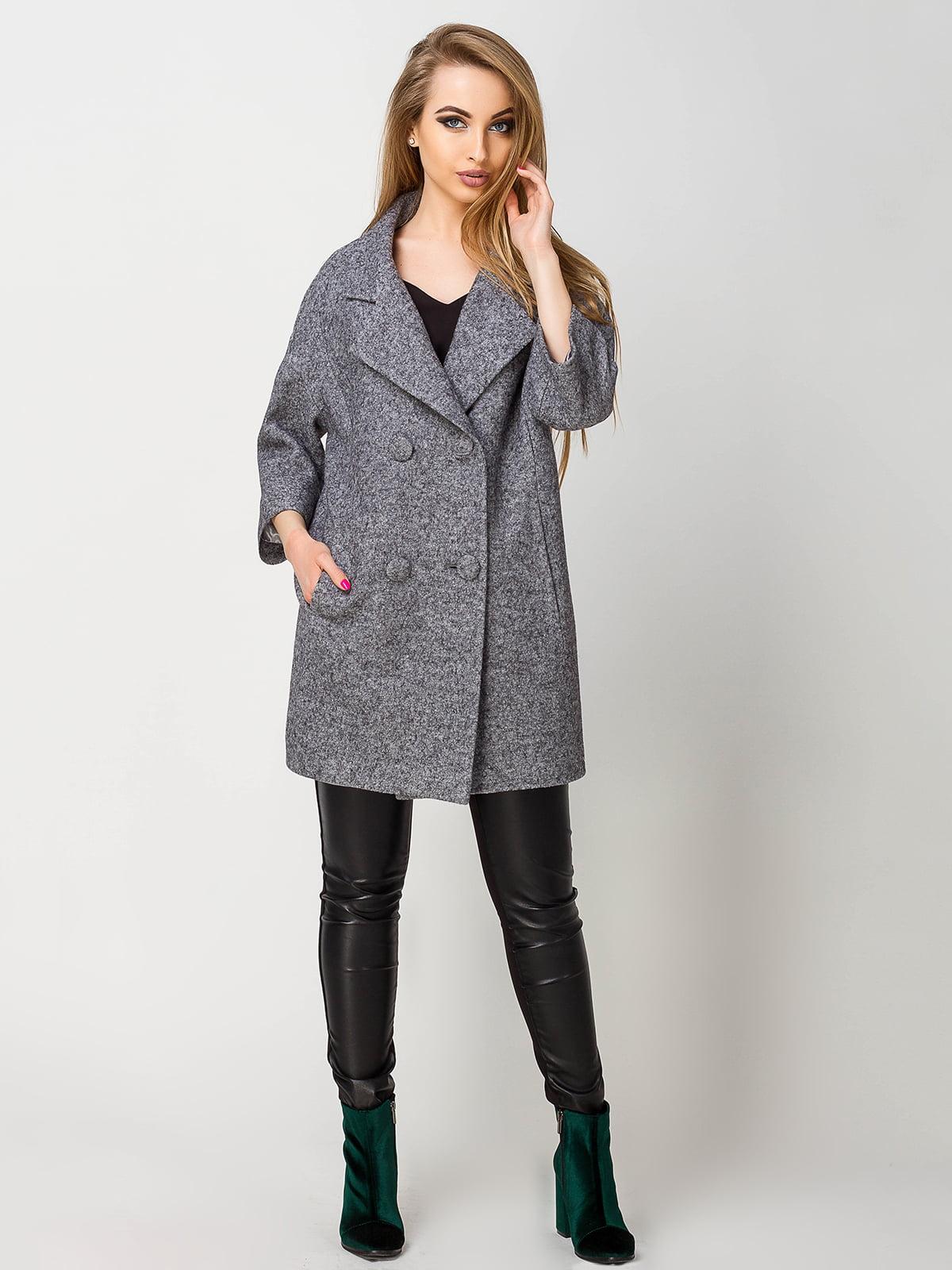Пальто сіре | 4155968