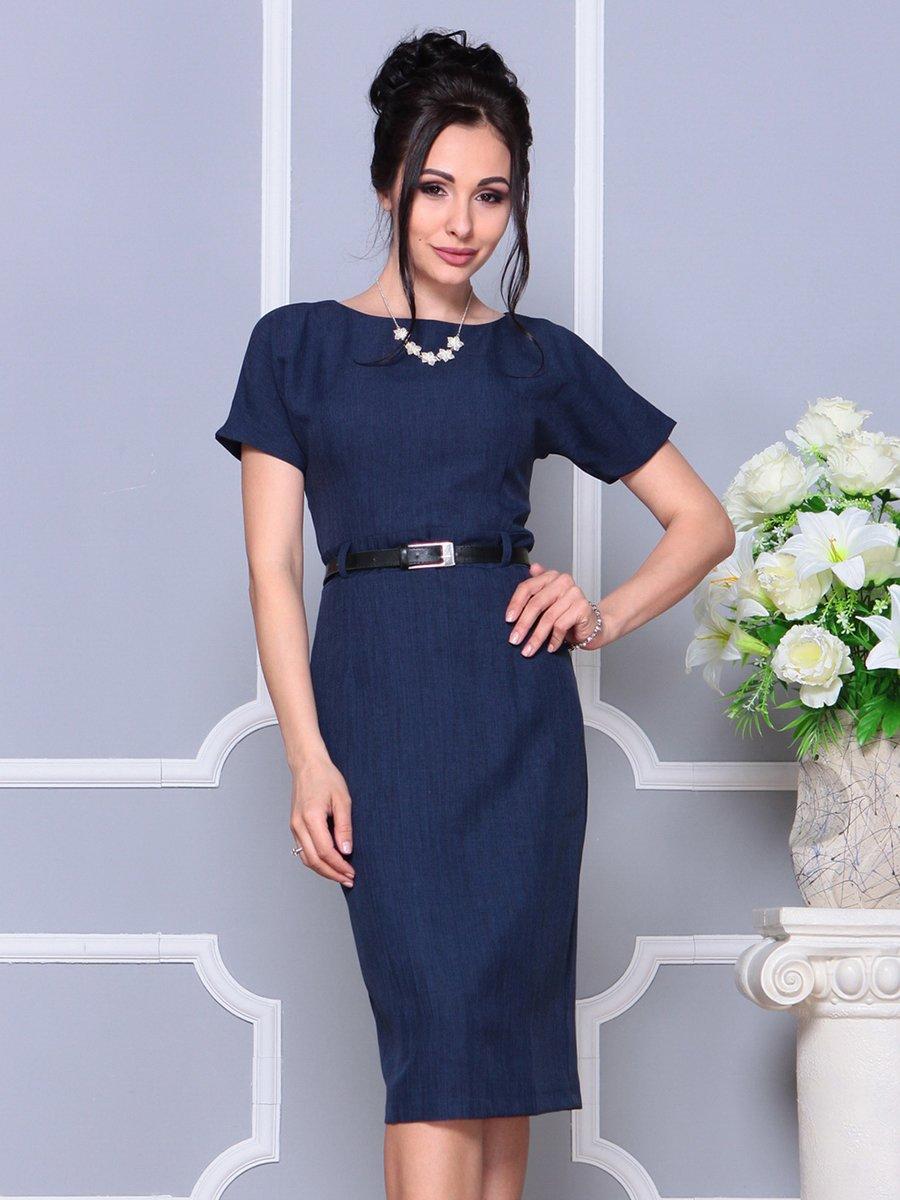 Платье темно-синее | 4178057