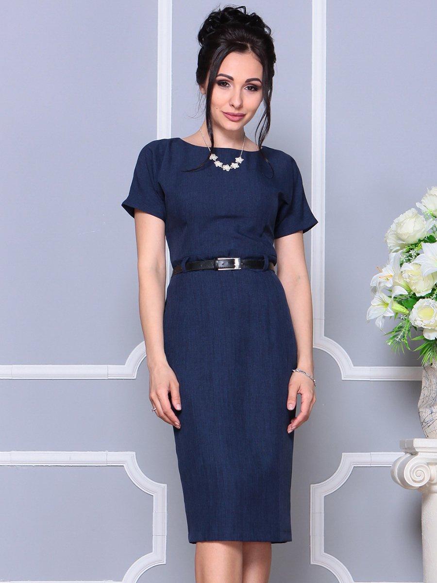 Платье темно-синее | 4178057 | фото 3