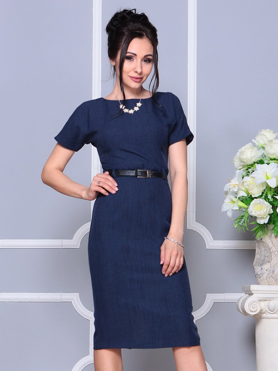 Платье темно-синее | 4178057 | фото 4