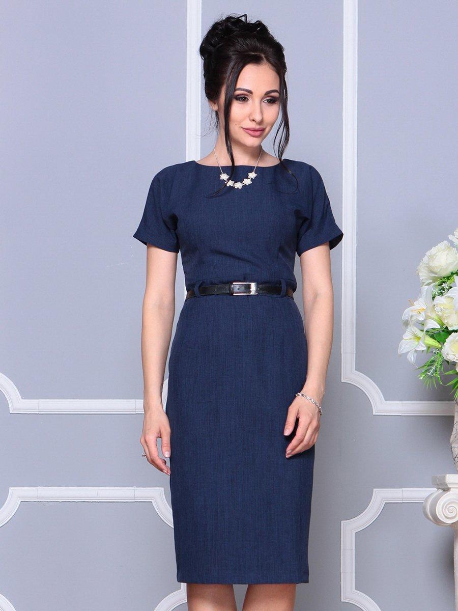 Платье темно-синее | 4178057 | фото 5