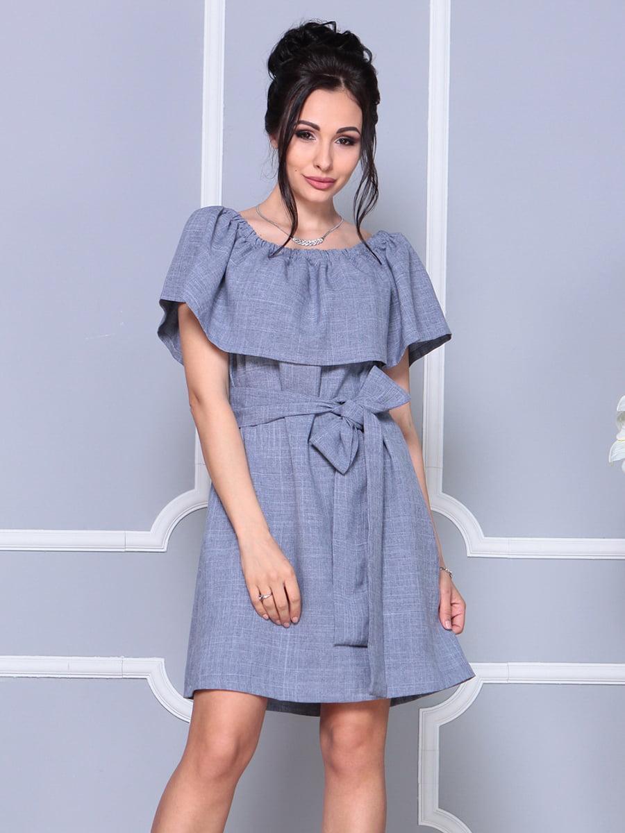 Платье цвета фиолетовой дымки   4178058   фото 3