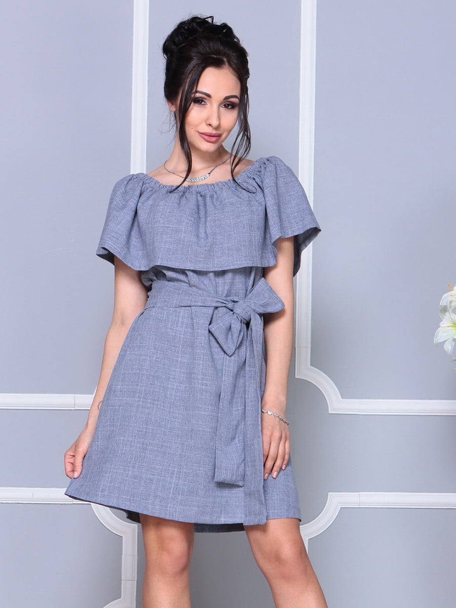 Платье цвета фиолетовой дымки   4178058