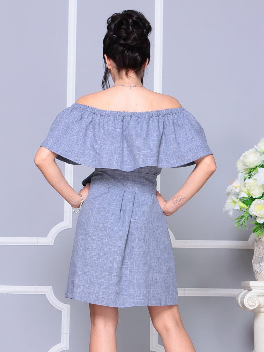Платье цвета фиолетовой дымки   4178058   фото 2