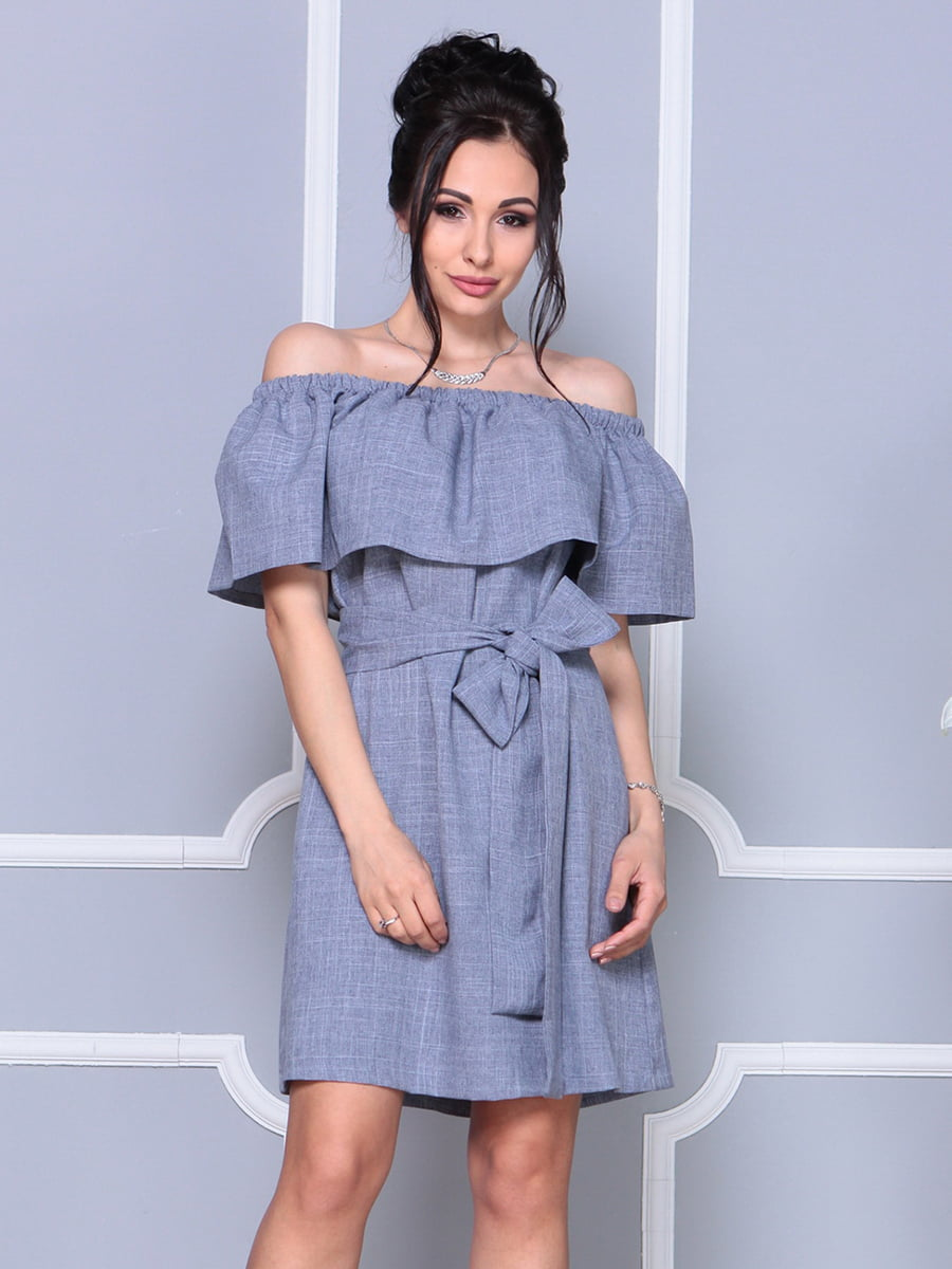Платье цвета фиолетовой дымки   4178058   фото 4