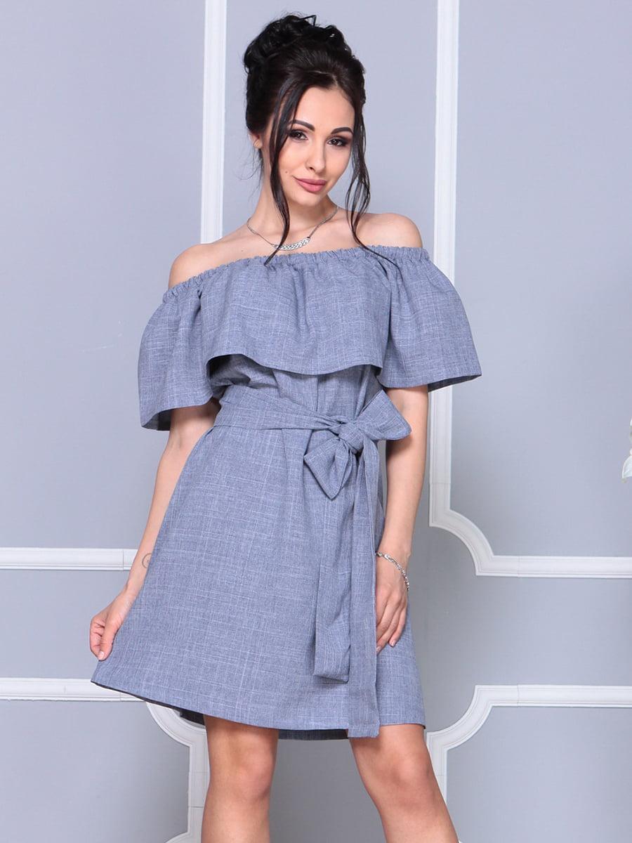 Платье цвета фиолетовой дымки   4178058   фото 5