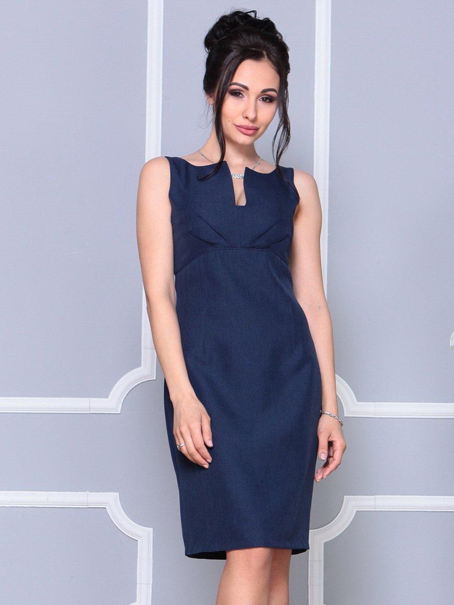 Платье темно-синее | 4178063