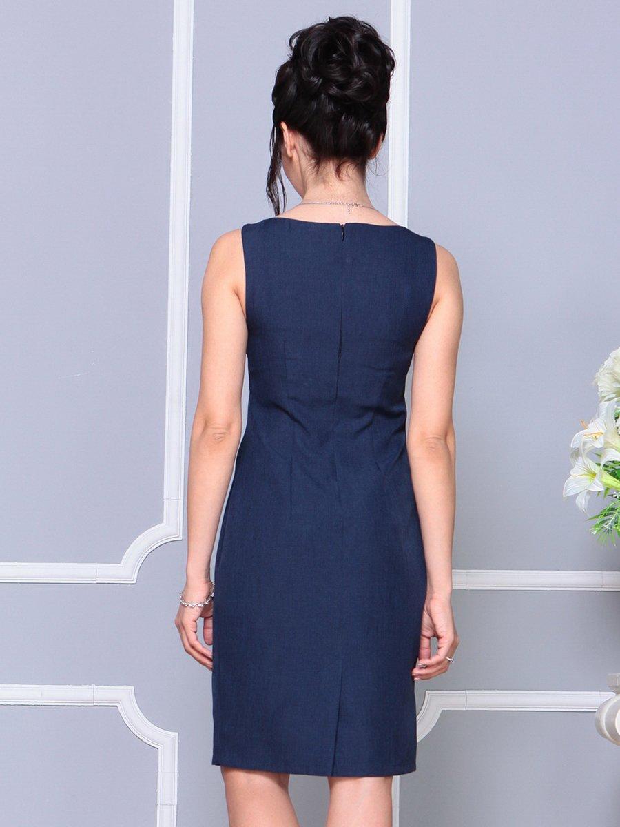 Платье темно-синее | 4178063 | фото 2