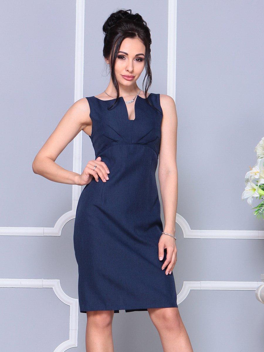 Платье темно-синее | 4178063 | фото 3