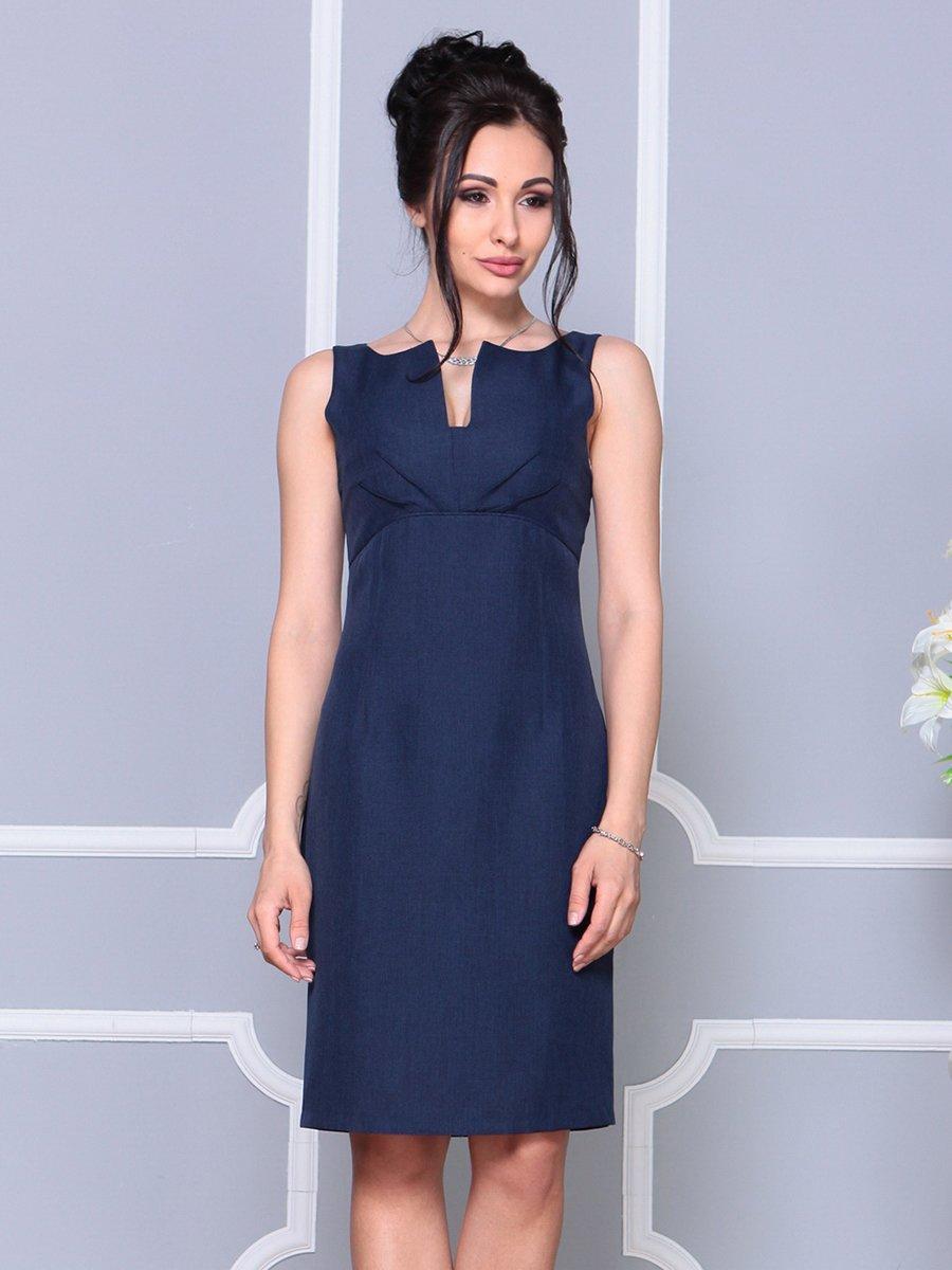 Платье темно-синее | 4178063 | фото 4