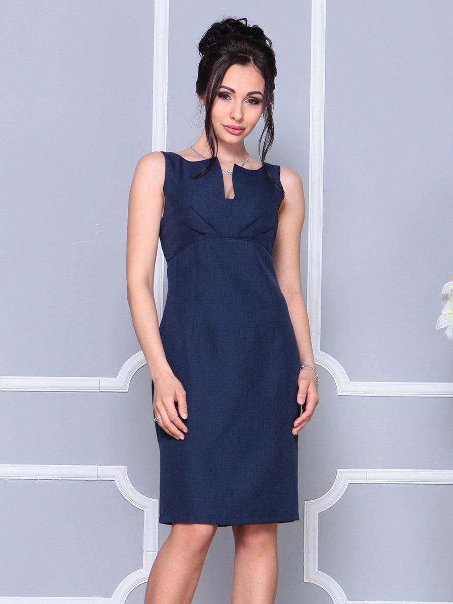 Платье темно-синее | 4178063 | фото 5