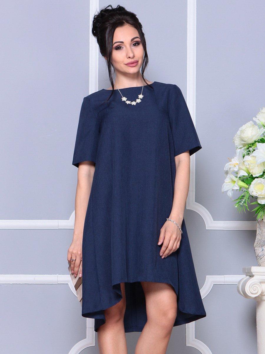 Платье темно-синее | 4178068