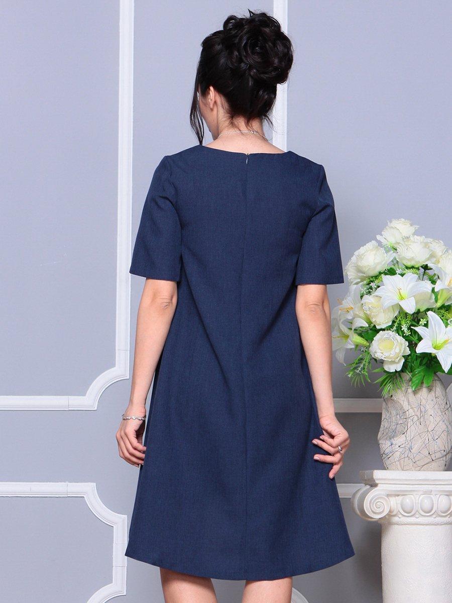 Платье темно-синее | 4178068 | фото 2