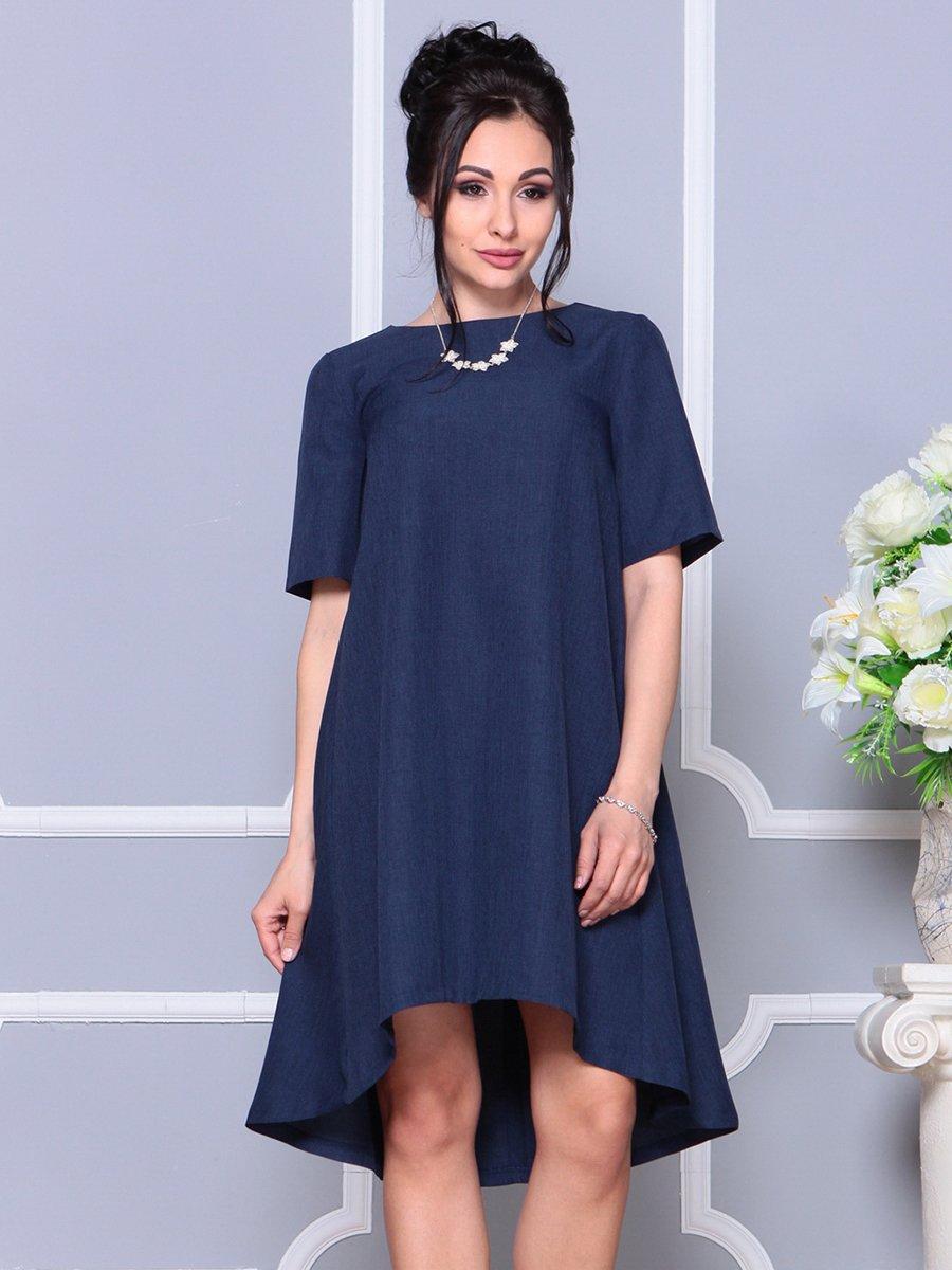 Платье темно-синее | 4178068 | фото 4