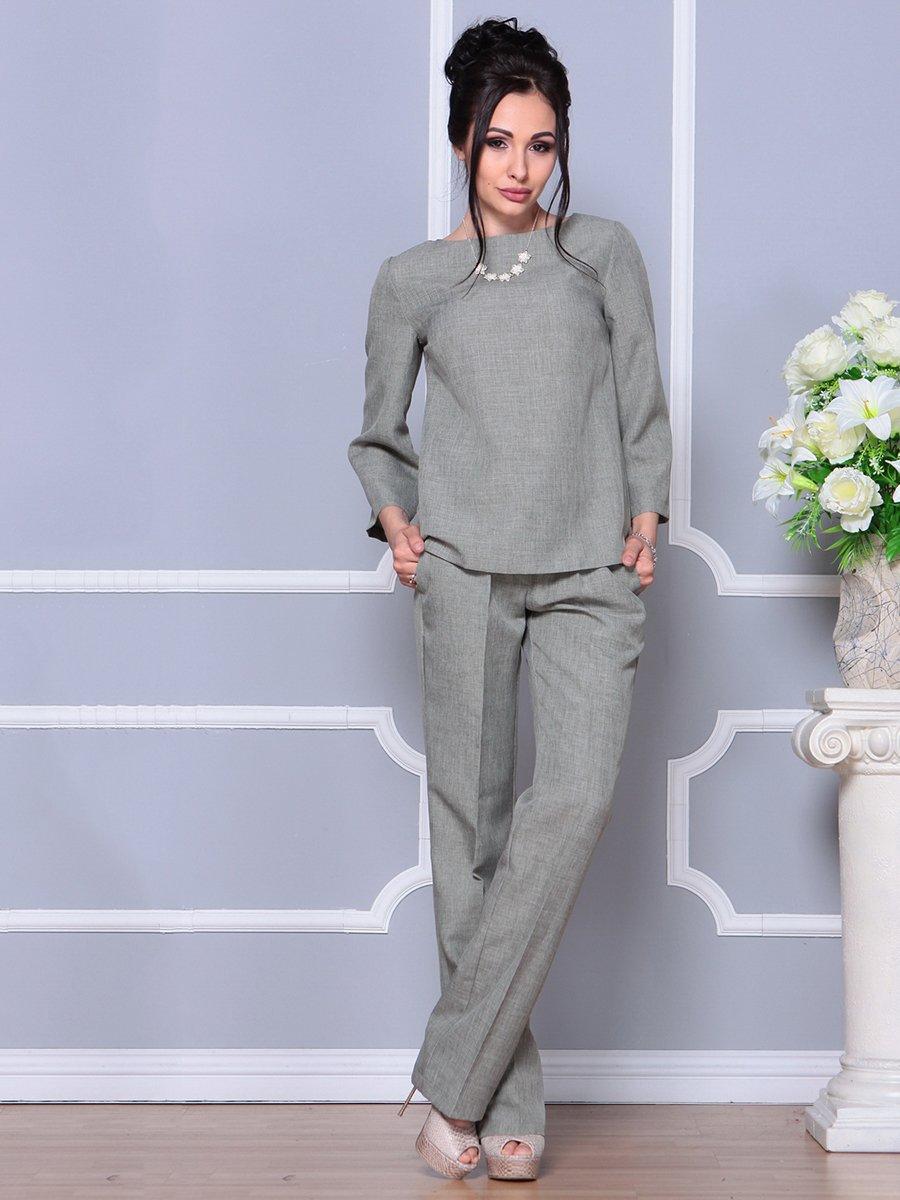 Костюм: блуза и брюки | 4178070
