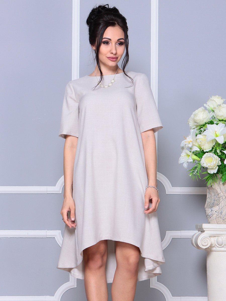 Платье бежевое | 4178071