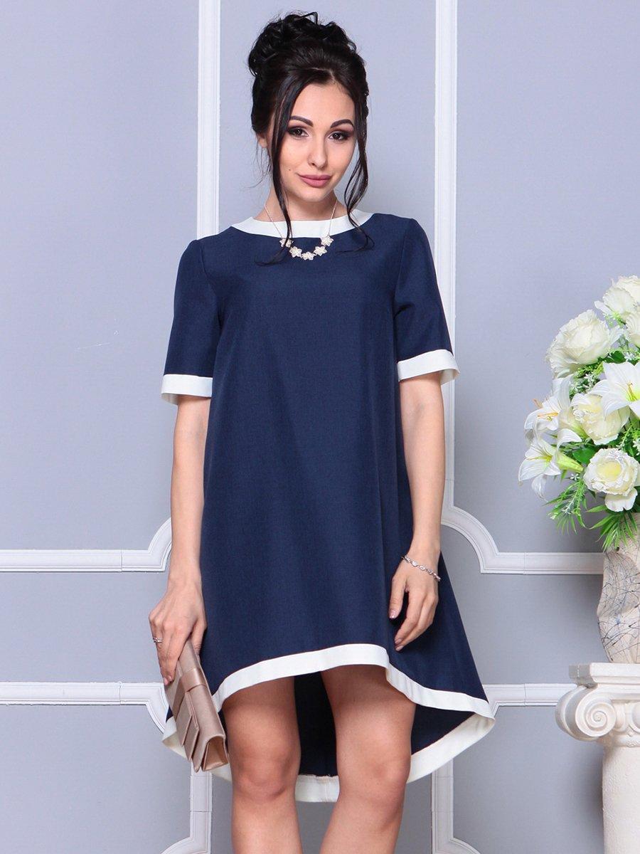 Платье темно-синее | 4178092