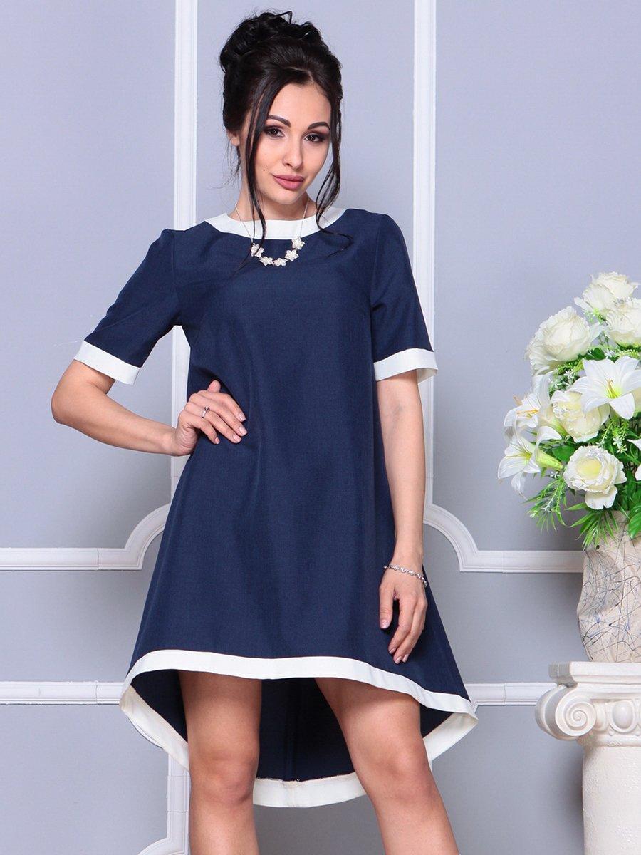 Платье темно-синее | 4178092 | фото 4