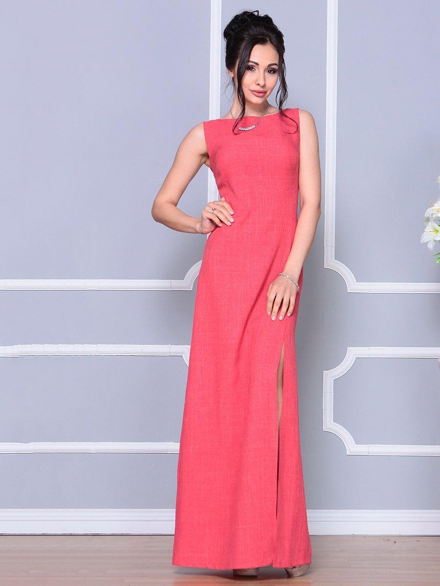Платье цвета красный коралл   4178097   фото 3