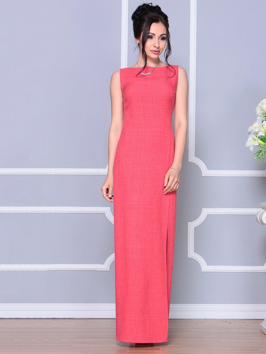 Платье цвета красный коралл   4178097   фото 4