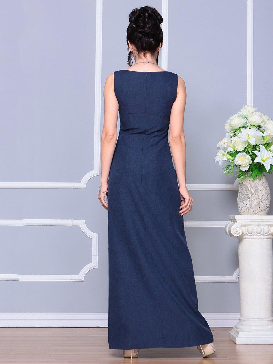 Платье темно-синее | 4178098 | фото 2