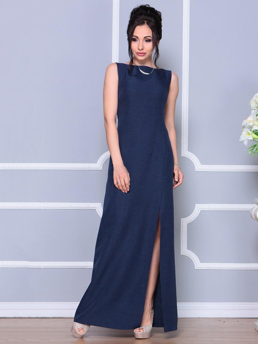 Платье темно-синее | 4178098 | фото 3