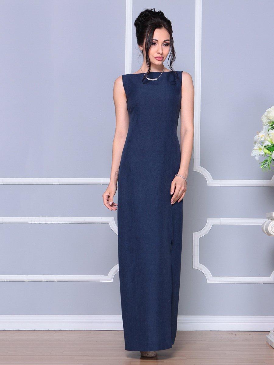 Платье темно-синее | 4178098 | фото 4
