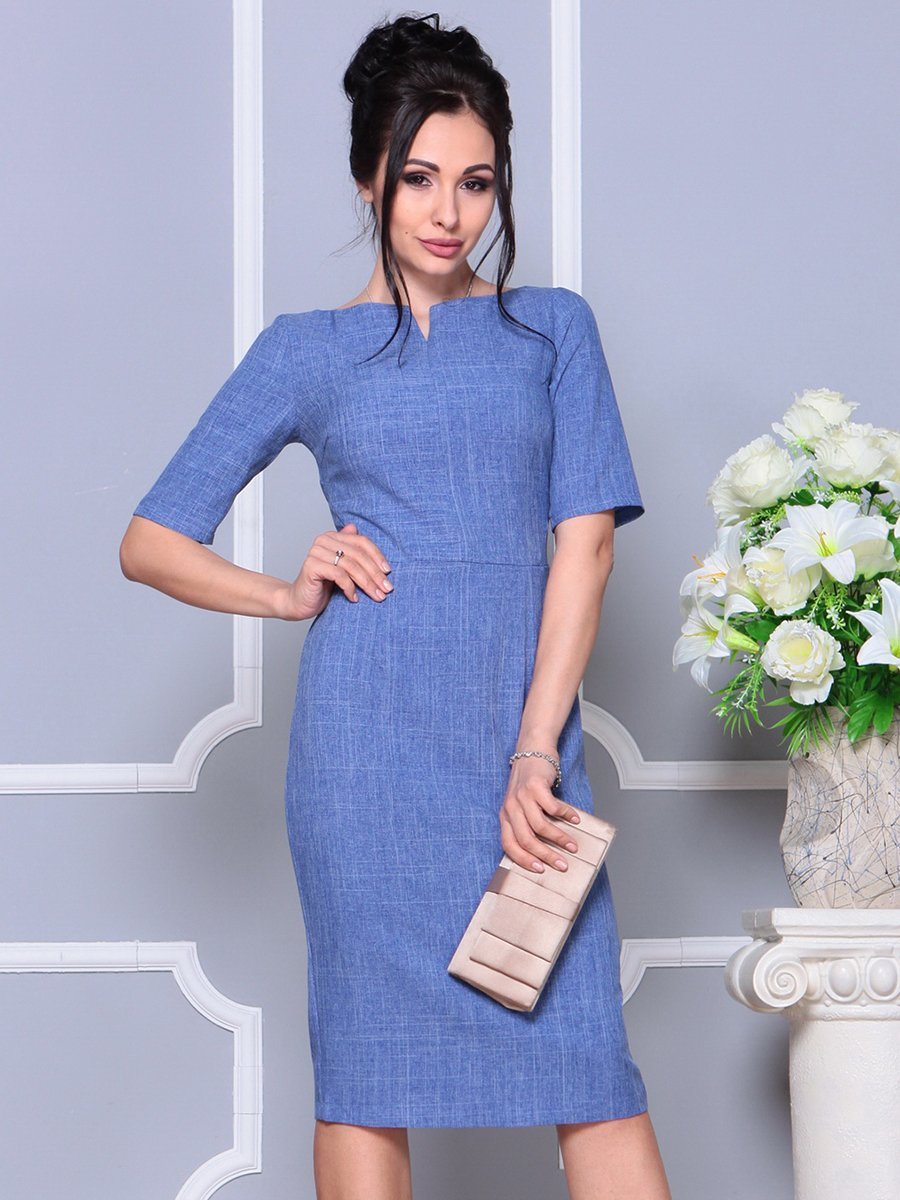 Платье синее | 4178100