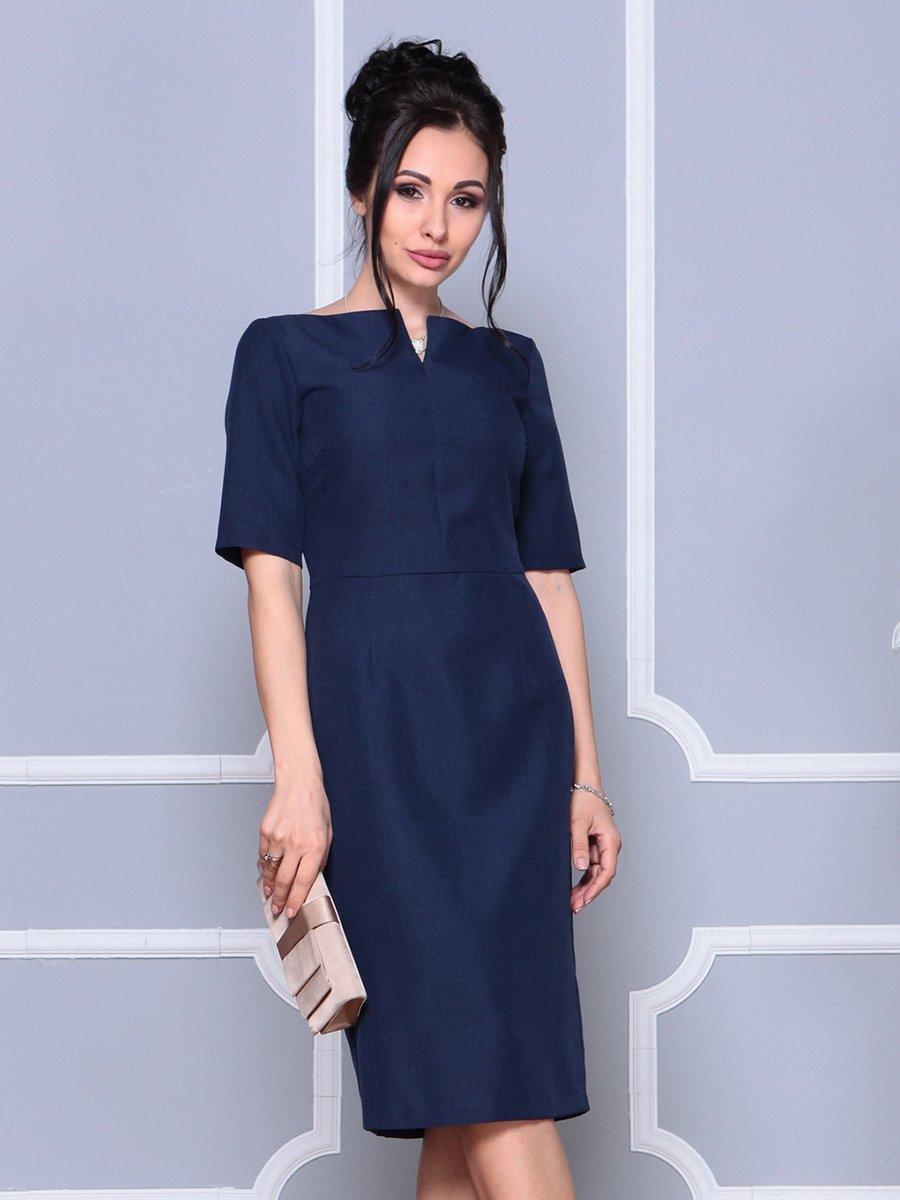 Платье темно-синее | 4178101