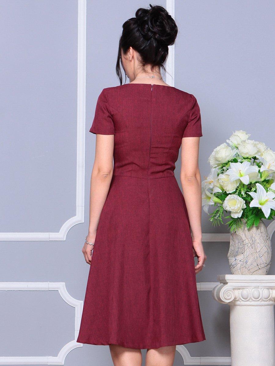Платье светло-сливовое   4178111   фото 2