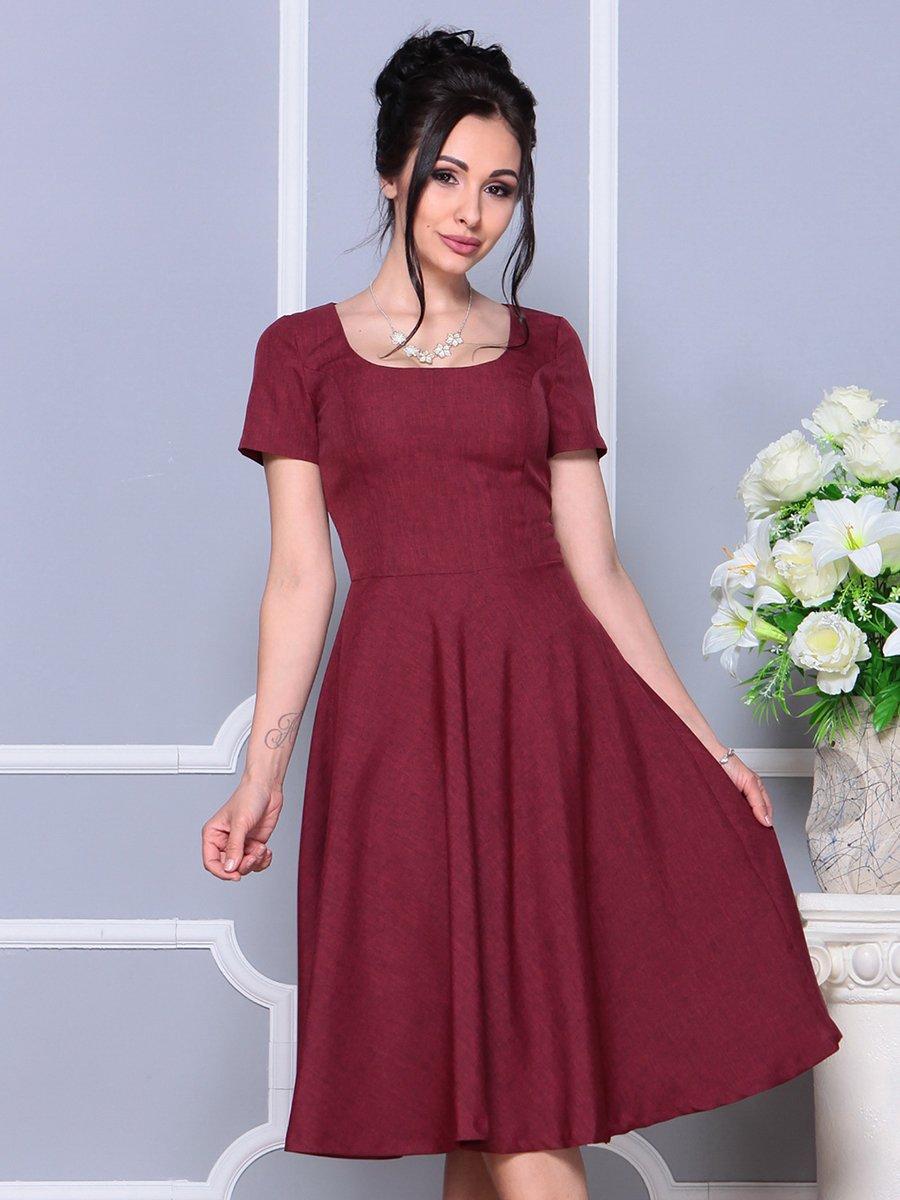 Платье светло-сливовое   4178111   фото 3