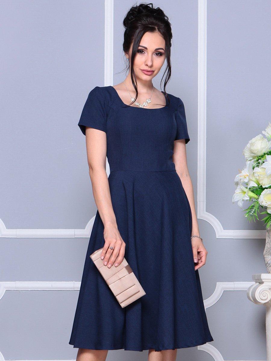 Платье темно-синее | 4178112