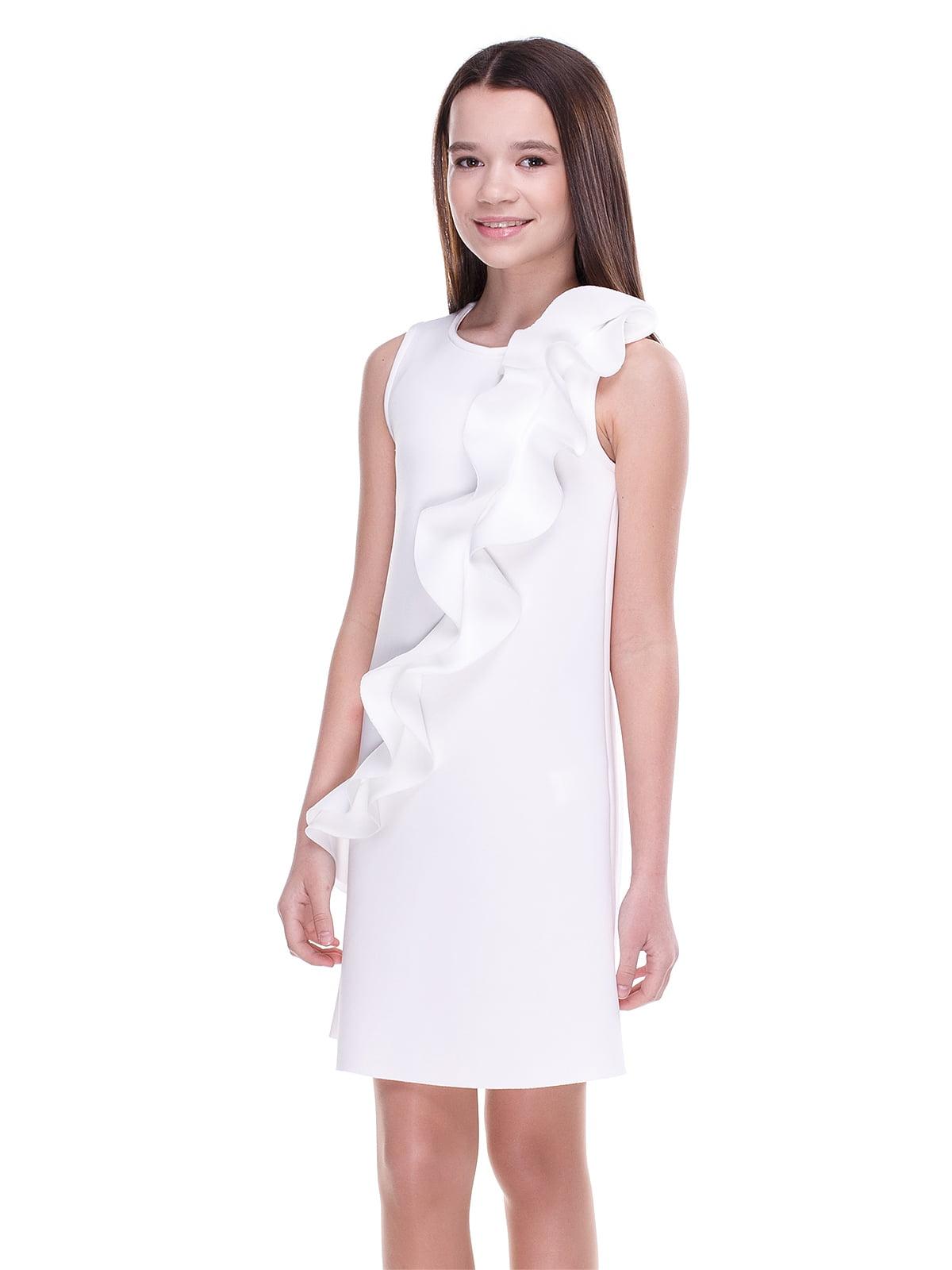 Сукня молочного кольору | 4176659