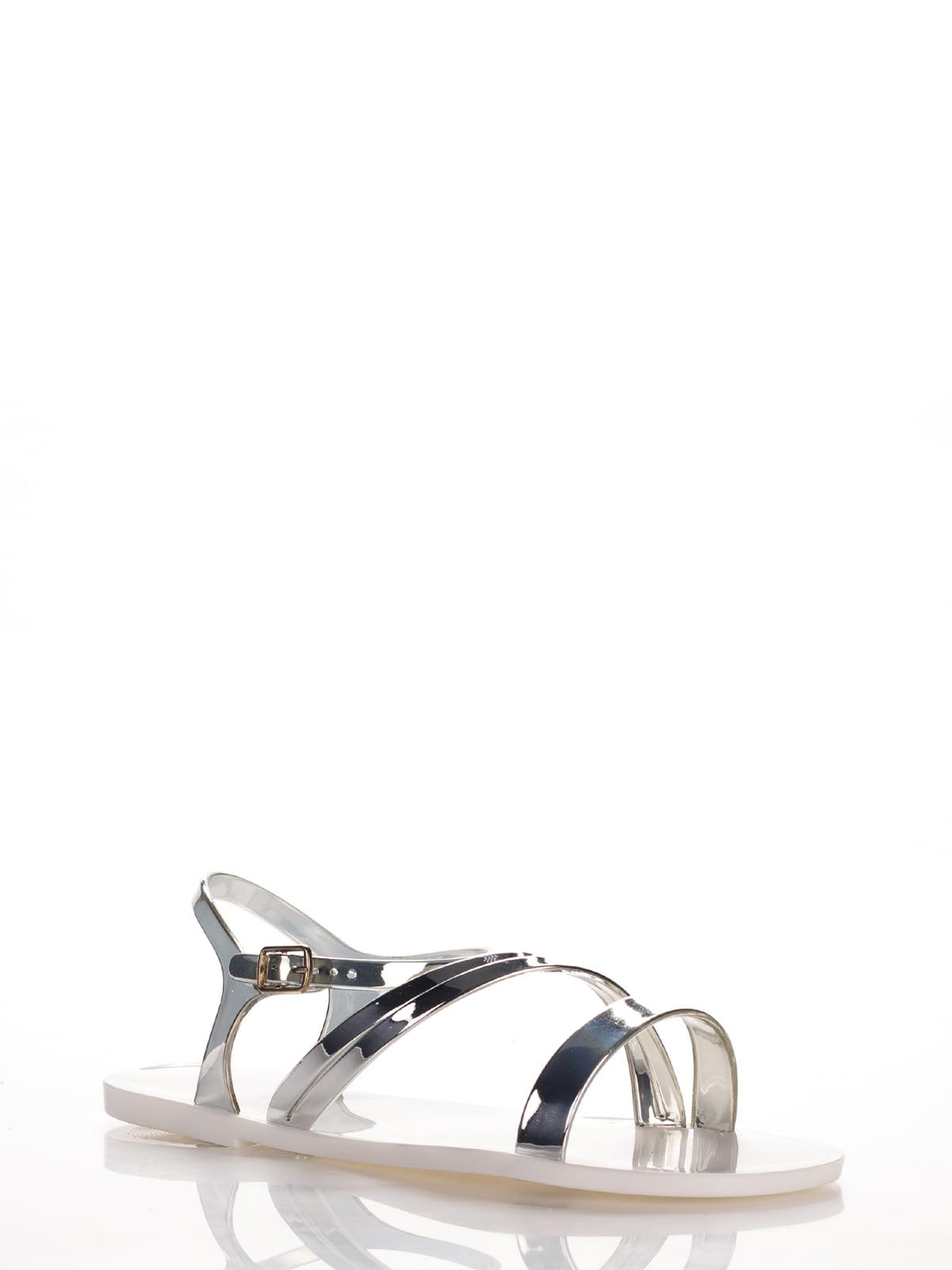 Сандалии серебристые | 2561597 | фото 2