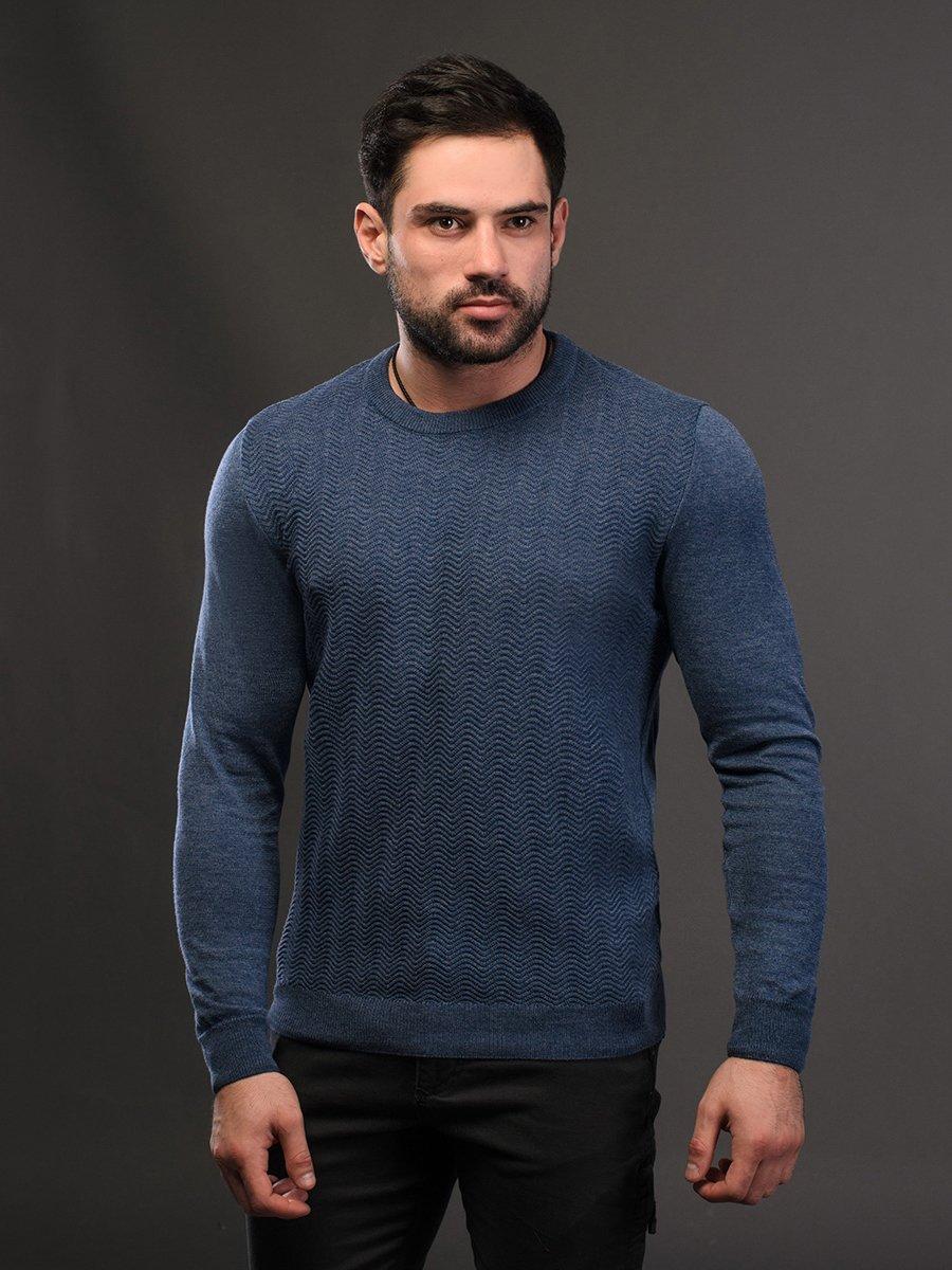 Джемпер джинсового кольору | 4179269