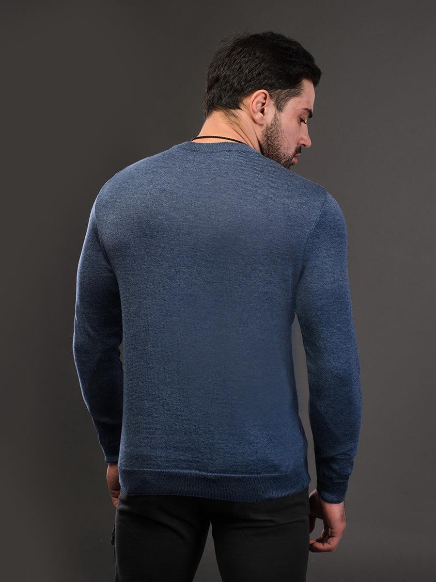 Джемпер джинсового кольору | 4179269 | фото 3