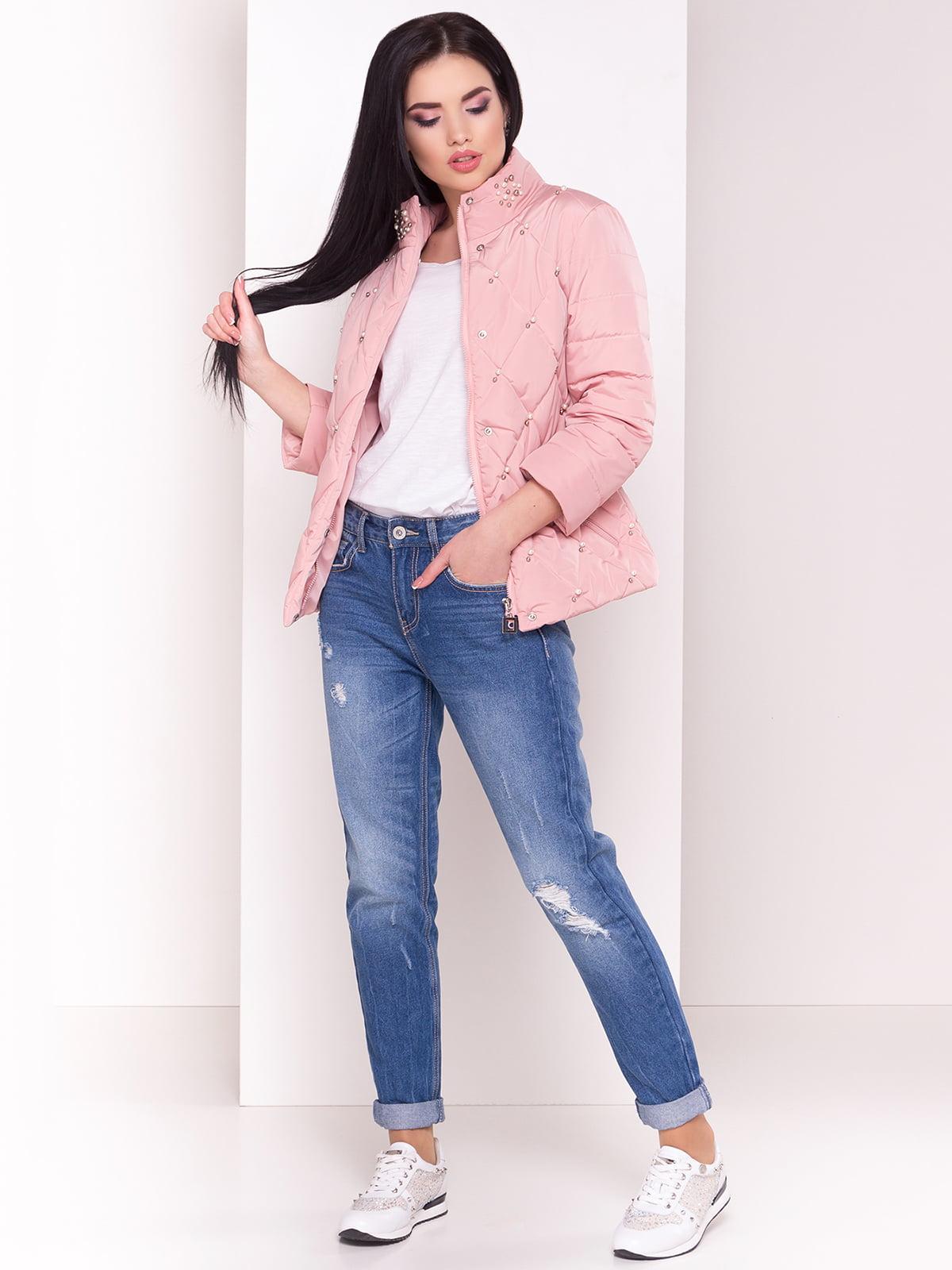 Куртка кольору пудри   4179048