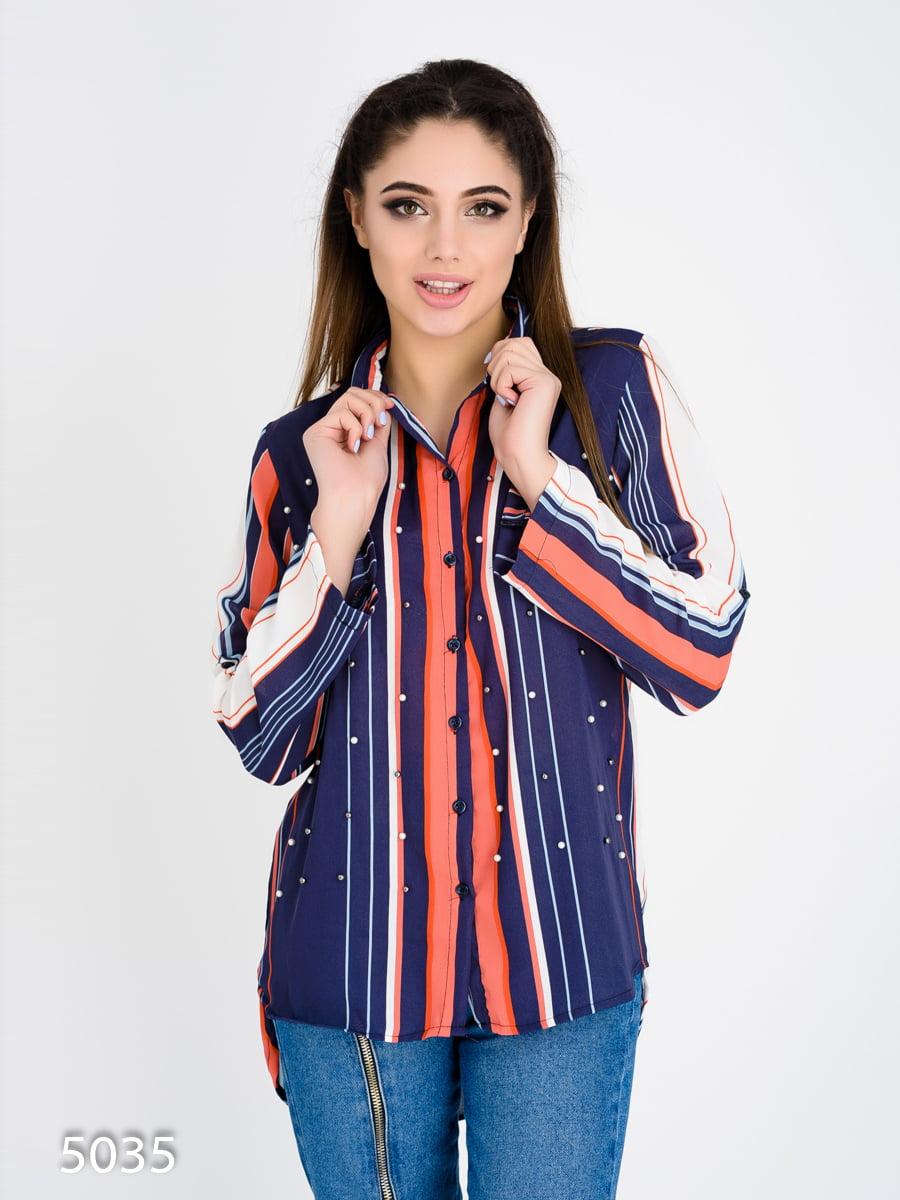 Рубашка в полоску | 4137772