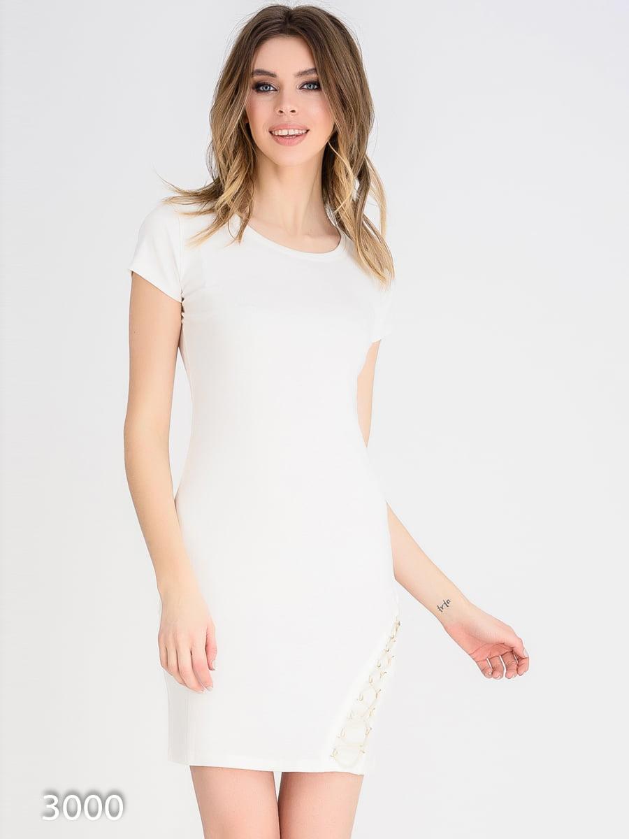 Платье молочного цвета | 4165338