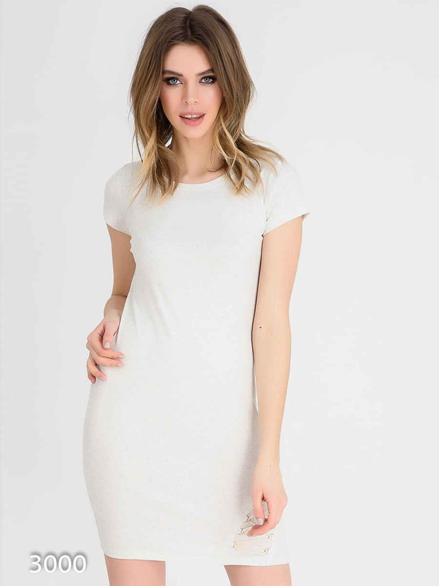 Платье серое | 4165339
