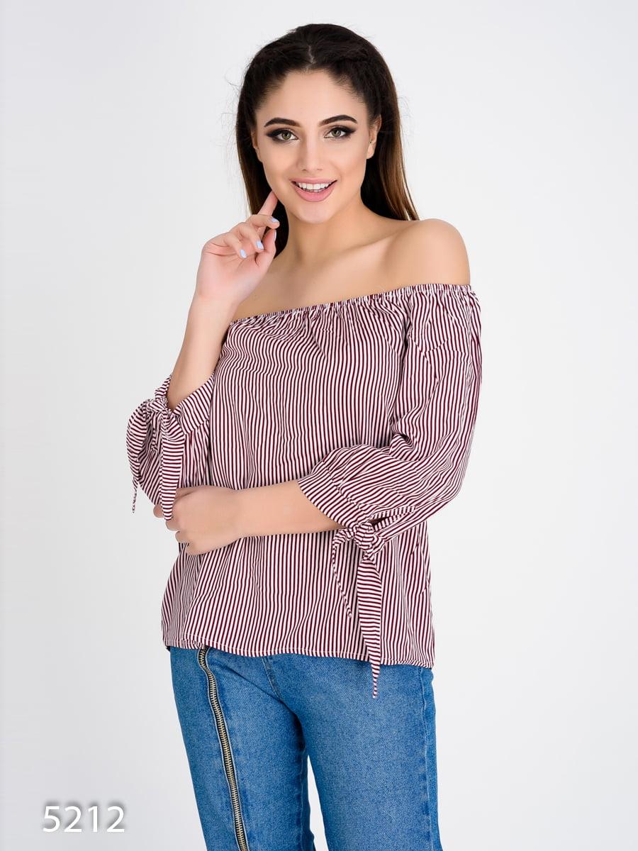 Блуза в полоску | 4184961