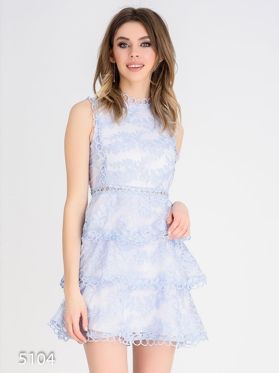 Платье голубое | 4184967