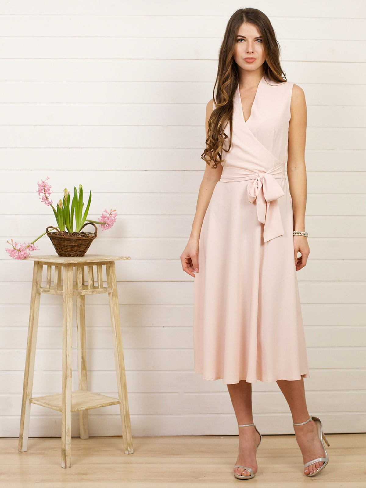 Платье кремового цвета | 4183013