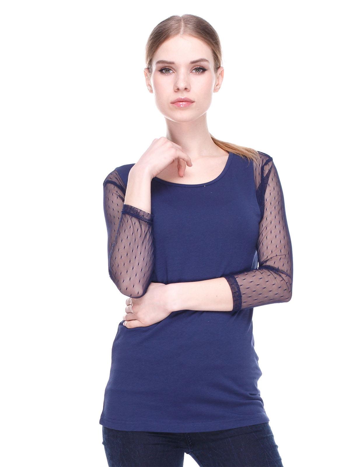 Блуза синя | 4180414